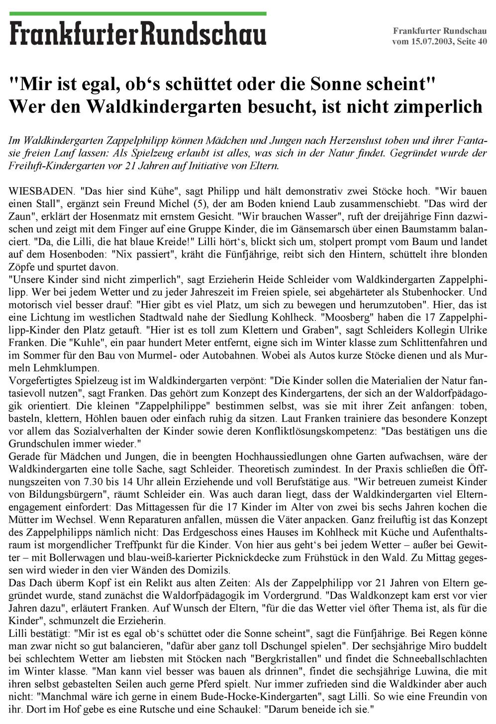 Frankfurter Rundschau Wiesbaden